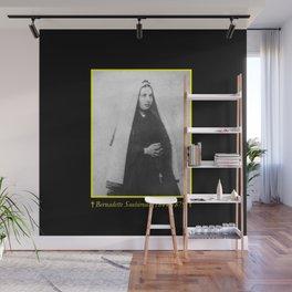 Billard Perrin - Portrait of Bernadette Soubirous 2 Wall Mural