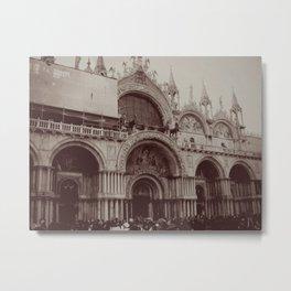 St. Mark's Basilica, Venice Metal Print