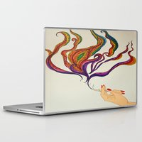 political Laptop & iPad Skins featuring Political Views by Aries Art