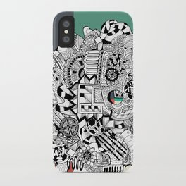 Orden inverso iPhone Case