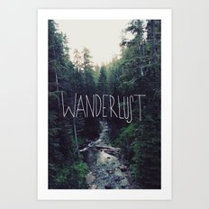 Wanderlust: Rainier Creek Art Print