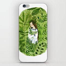 The Forest Deep iPhone Skin