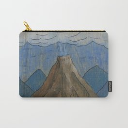 Volcano at night Carry-All Pouch