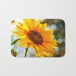 Radiant Sunflower Bath Mat