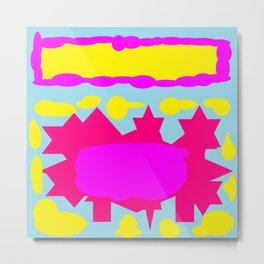 Jelly For Nelly time for tea Metal Print