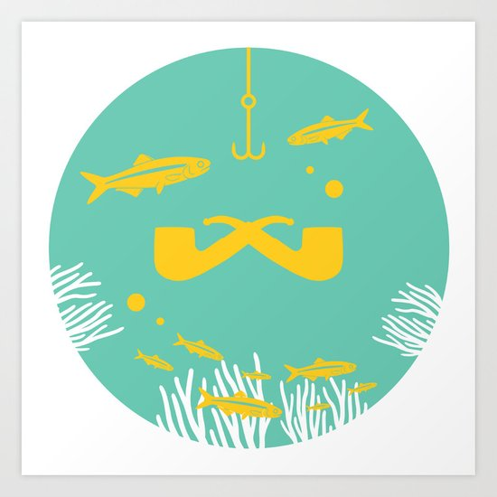 Maritime Series 002. Art Print