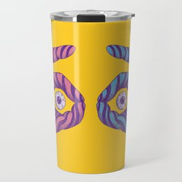 Thief Eyes Travel Mug