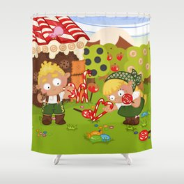 Hansel & Gretel Shower Curtain