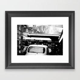 London Savoy hotel Framed Art Print