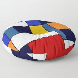 Abstract #351 Floor Pillow