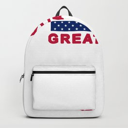 MAGA tee shirt trump supporter - Make America Great Again Backpack
