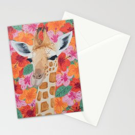 George the Giraffe Stationery Cards