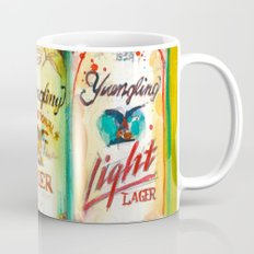Yuengling Beer - Black and White, Lager and Light Beer Mug