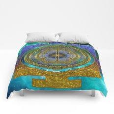 Yantra Mantra Mandala #1 Comforters