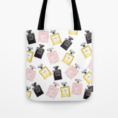 Parfum Pattern Tote Bag