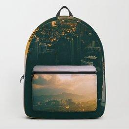 Golden Light Cityscape (Color) Backpack