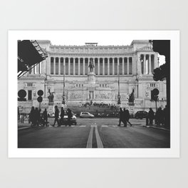 Tomb of the Unkown - Rome Art Print