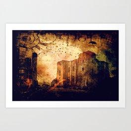 Enchanted Castle Art Print