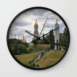 View of the Kiev-Pechersk Lavra Wall Clock