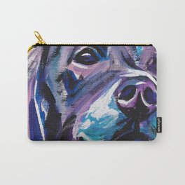 fun GSP German Shorthaired Pointer bright colorful Pop Art painting by Lea Carry-All Pouch