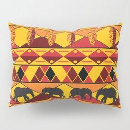 African Tribal Pattern No. 34 Pillow Sham