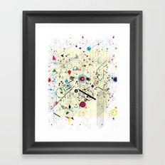 Virtual Chaos 2 Framed Art Print