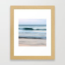 Let It Roll Right By You Framed Art Print