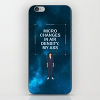 ripley iPhone & iPod Skins featuring Alien - Ellen Ripley Quote by V.L4B