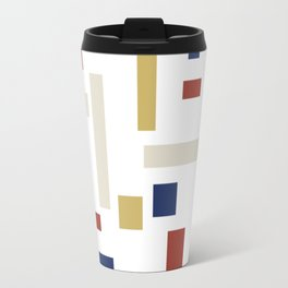 Abstract Theo van Doesburg Composition VIII (White) The Three Graces Travel Mug