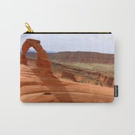 Delicate Arch A Famous Landmark Carry-All Pouch