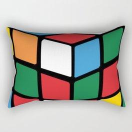 rubik's cube Rectangular Pillow