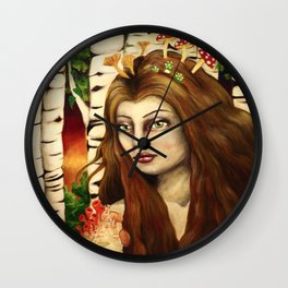 Symbionts Wall Clock