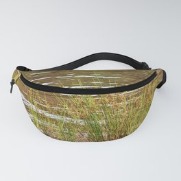 Beautiful River Grass Fanny Pack