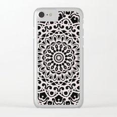 Tribal Mandala G385 Clear iPhone Case