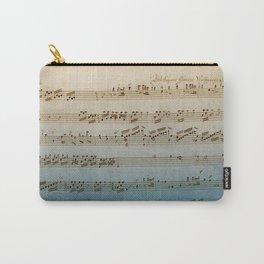 Handwritten Mozart Carry-All Pouch