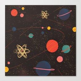 Let's Explore the Galaxy Canvas Print