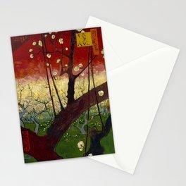 "Vincent van Gogh ""Flowering plum orchard - near Hiroshige"" Stationery Cards"