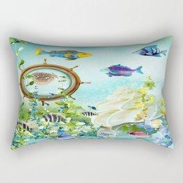 Leben im Wasser Rectangular Pillow