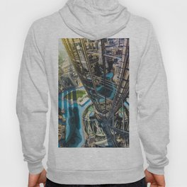 Dubai from the tallest building in the world Hoody