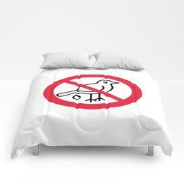 Birds Sign Logo 1 Comforters