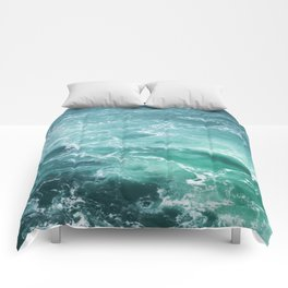Sea Waves | Seascape photography Comforters