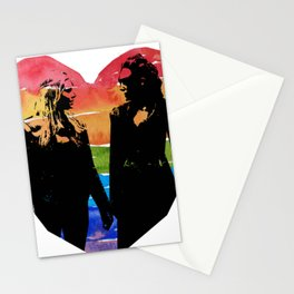 Clexa Silhouette Stationery Cards
