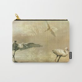 Spoonbill morning Carry-All Pouch