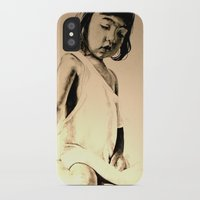 jessica lange iPhone & iPod Cases featuring JESSICA by ARTito