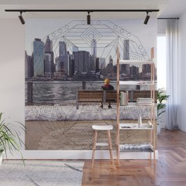 New York Mandala Wall Mural