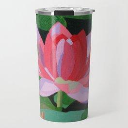 Water Lily Travel Mug