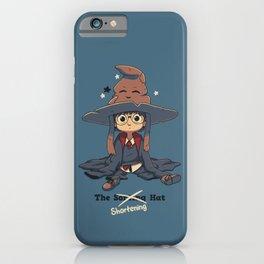 The Shortening Hat // Chibi Wizard, Fantasy, Magic iPhone Case