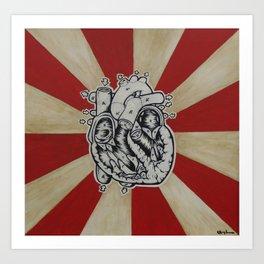 Human Pump Art Print