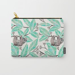 Happy Sloth – Tropical Mint Rainforest Carry-All Pouch