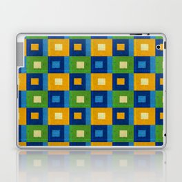 Summer laziness. Squares inside each other. Laptop & iPad Skin